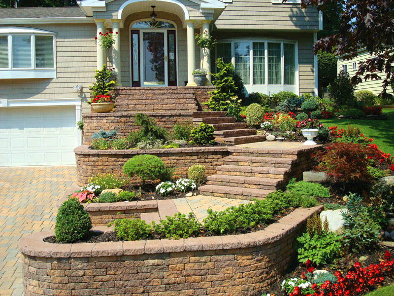 patio design Ashburn Loudoun Nicolock