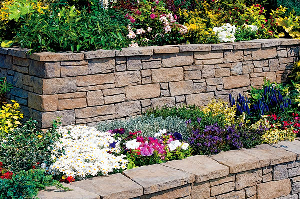stone wall design planning build Sterling